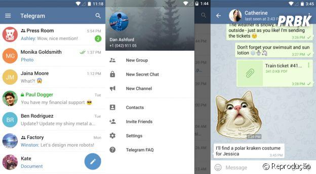 Sem Whatsapp? Use o Telegram!