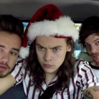One Direction, Justin Bieber e mais artistas cantam músicas de Natal com James Corden no carro!