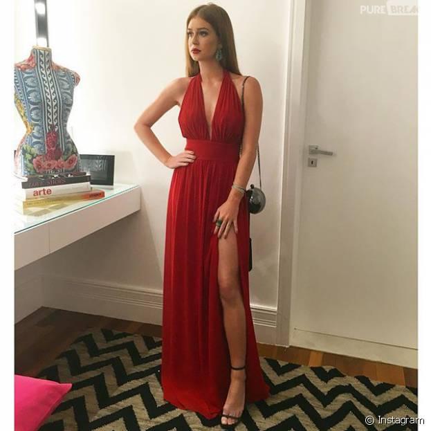 91a13088e Marina Ruy Barbosa arrasa nos looks vermelhos! Veja mais exemplos de looks  nessa cor para