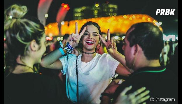 Bruna Marquezine teria ficado furiosa com Maurício Destri na última noite do Rock in Rio 2015