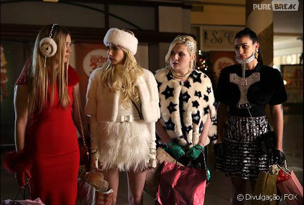 """Scream Queens"" é a série mais popular nas redes sociais"