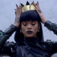 """Rihanna é coroada em mais um misterioso vídeo para promover seu próximo álbum """"ANTI"""". Assista!"""
