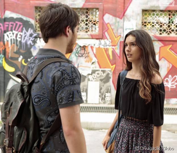 """Em """"Malhação"""", Luciana (Marina Moschen) se desespera ao saber que pode ser soropositiva após acidente com Henrique!"""