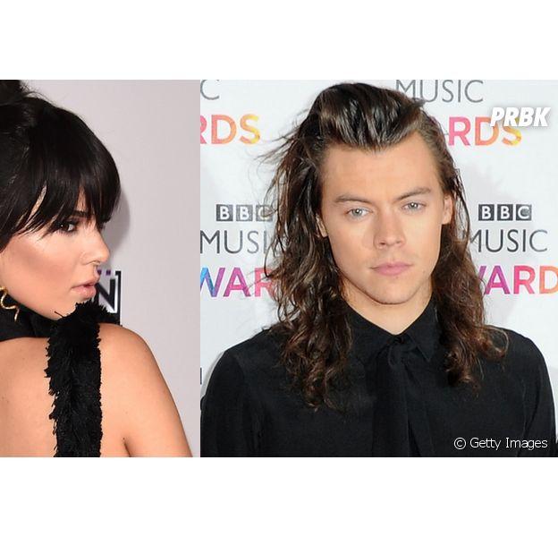 Flagra! Kendall Jenner e Harry Styles, do One Direction, são fotografados em jantar