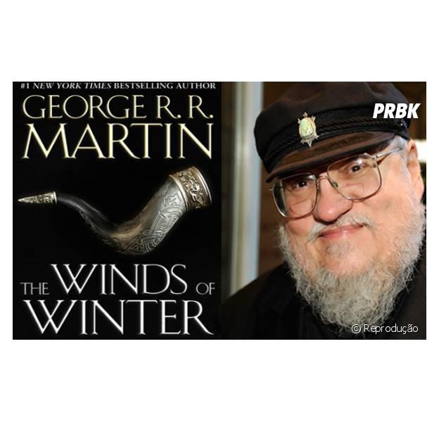 """George R.R. Martin confessa que livro """"The Winds Of Winter"""" não está pronto"""