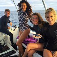 """Nina Dobrev mergulha com 22 tubarões selvagens no Havaí por uma boa causa: """"Foi incrível"""""""