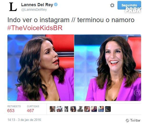 "Na estreia do ""The Voice Kids"", Ivete Sangalo virou meme nas redes sociais"