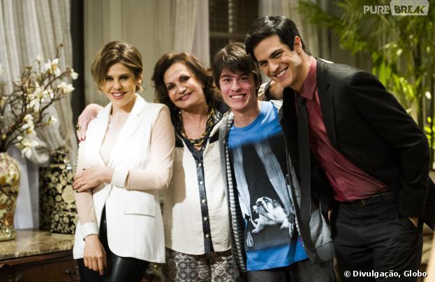 """Edith (Bárbara Paz) revela que Jonathan (Thalles Cabral) é filho de Félix (Mateus Solano) em """"Amor à Vida"""""""