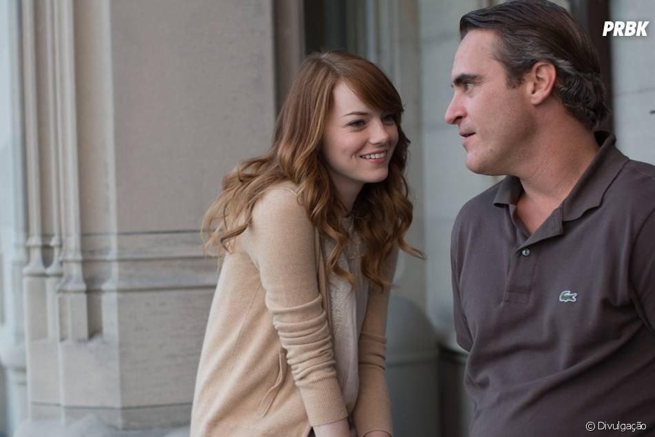 """Emma Stone foi vista por último em """"Homem Irracional"""", do Woody Allen"""