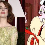 """Emma Stone pode interpretar a vilã Cruella de Vil em live-action de """"101 Dálmatas"""", da Disney"""