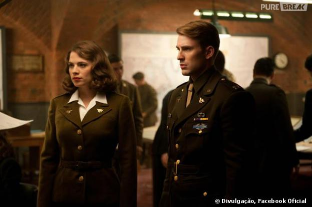 """""""Agent Carter"""" será a série spin-off de """"Capitão América"""", com Hayley Atwell vivendo novamente a protagonista"""