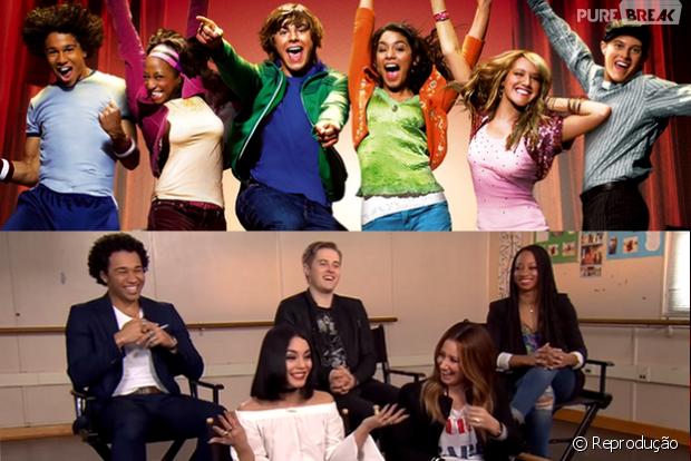 """Veja o elenco de """"High School Musical"""" se reunindo sem Zac Efron"""