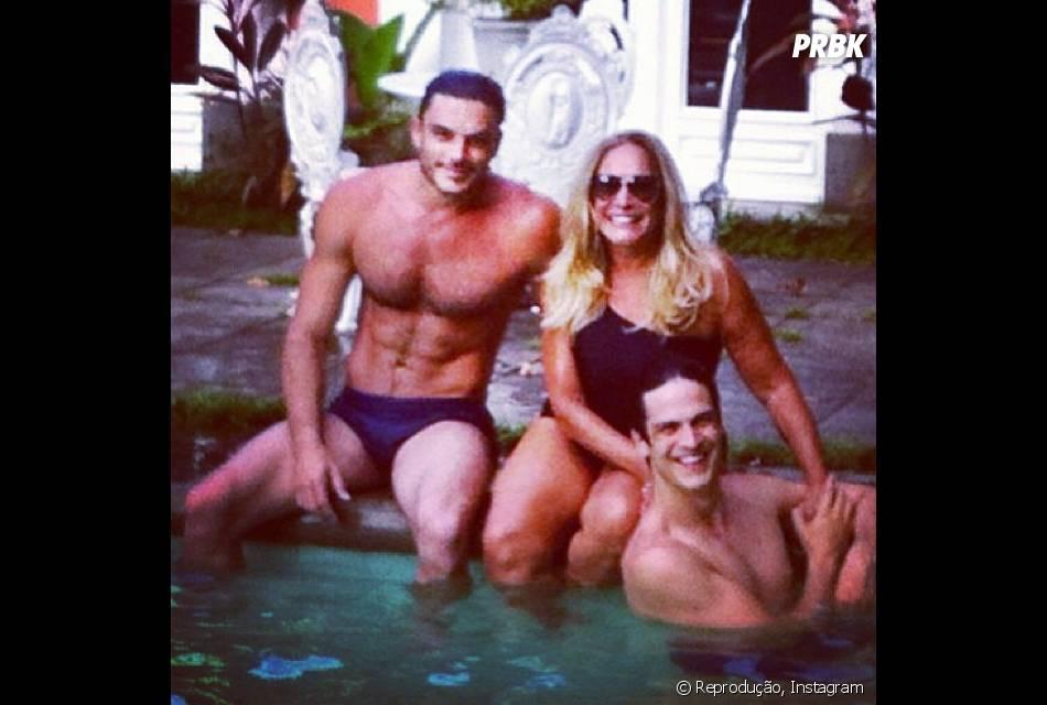 4fc2096356 Nada mais justo do que uma piscina depois das gravações de Amor à ...