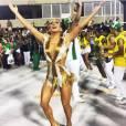 Claudia Leitte estará como rainha da Mocidade Independente pela segunda vez!