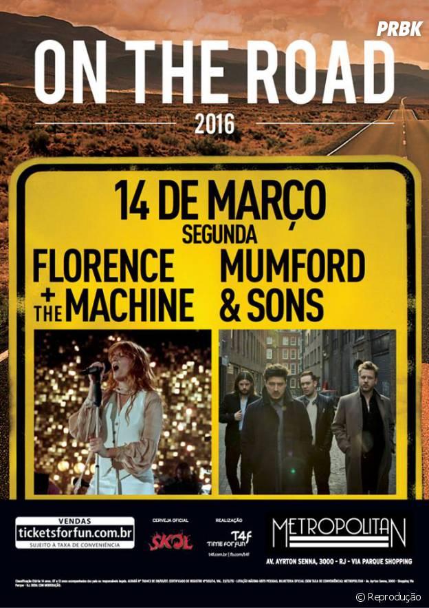 Florence + The Machine anuncia show no Rio de Janeiro