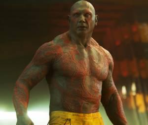 """Drax (Dave Bautista) já está confirmadíssimo na sequência """"Guardiões da Galáxia 2"""", mas o que a gente quer mesmo é um filme só para o cara!"""