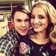 """Chord Overstreet postou uma foto todo carinhoso com Dianna Agron, que é a Quinn de """"Glee""""!"""
