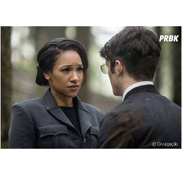 "Em ""The Flash"", Barry (Grant Gustin) e Iris (Candice Patton) são casados na Terra-2!"