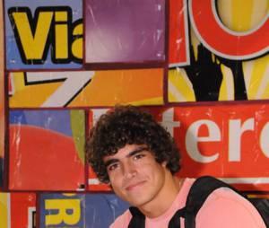 """Em 2007, Caio Castro apareceu com essa carinha de anjo em seu primeiro papel, na novela teen """"Malhação"""""""