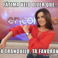 """Fátima Bernardes dança o hit """"Tá Tranquilo, Tá Favorável"""" e entrevista MC Bin Laden no """"Encontro""""!"""