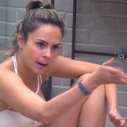 """No """"BBB16"""", Ana Paula briga com Ronan por causa de Tamiel: """"Você quer dar uma de bonzinho"""""""