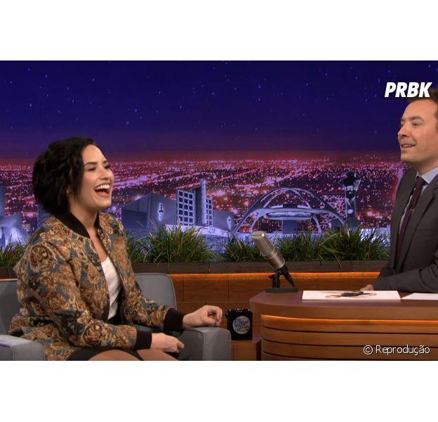 "Confira a participação de Demi Lovato no ""The Tonight Show Starring Jimmy Fallon"""