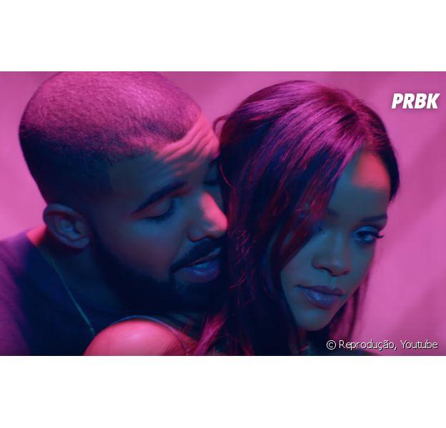 """Rihanna e Drake no clipe do hit """"Work"""""""
