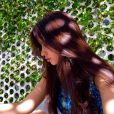 Camila Cabello, do Fifth Harmony, adora postar fotos destacando seu cabelo no Instagram