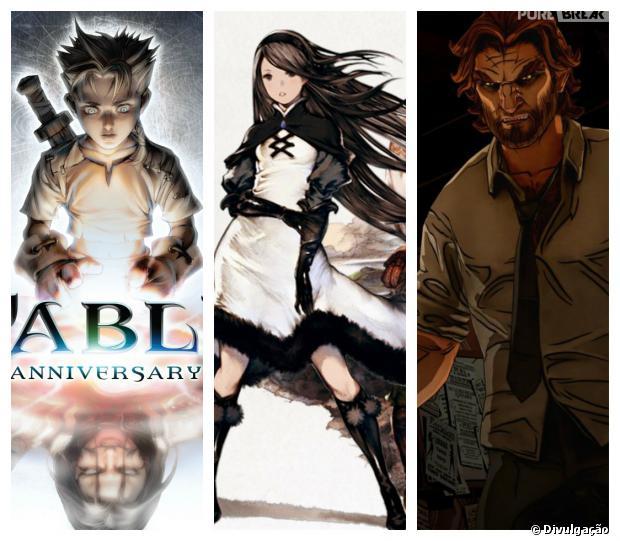 """""""Fable Anniversary"""", """"Bravely Default"""" e """"Wolf Among Us Ep2"""" são os lançamentos da semana"""