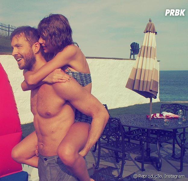 Taylor Swift e Calvin Harris completam 1 ano de namoro
