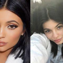 """Kylie Jenner surge sem maquiagem em foto no Instagram: """"Sardas"""""""