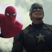 """De """"Capitão América 3"""": trailer com Homem-Aranha é visto quase 100 milhões de vezes em 24 horas!"""