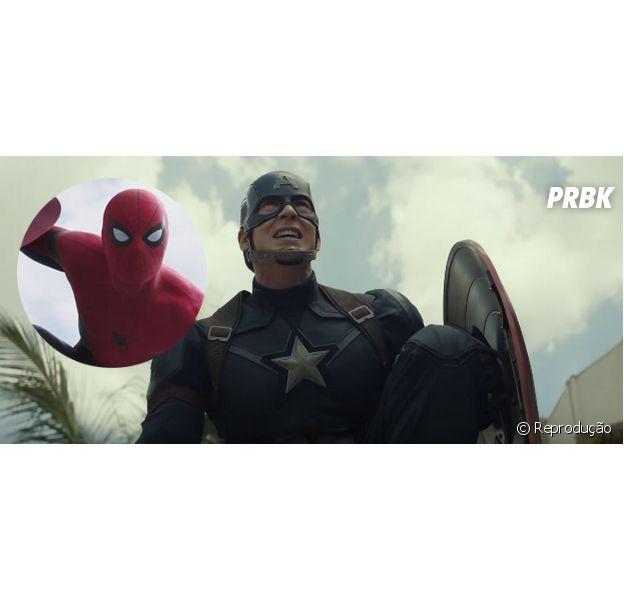"""Com Homem-Aranha, novo trailer de """"Capitão América 3"""" bate recorde de visualizações em 24 horas"""