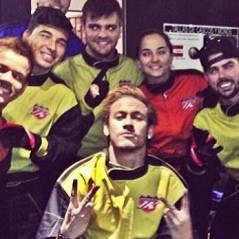 """Neymar ganha duas festas surpresa dos amigos em Barcelona: """"Amo vocês todos!"""""""