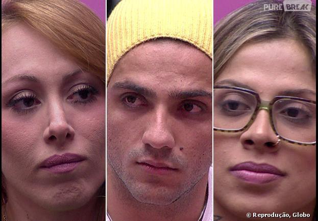 """Aline, Junior e Vanessa estão no paredão do """"BBB14"""""""
