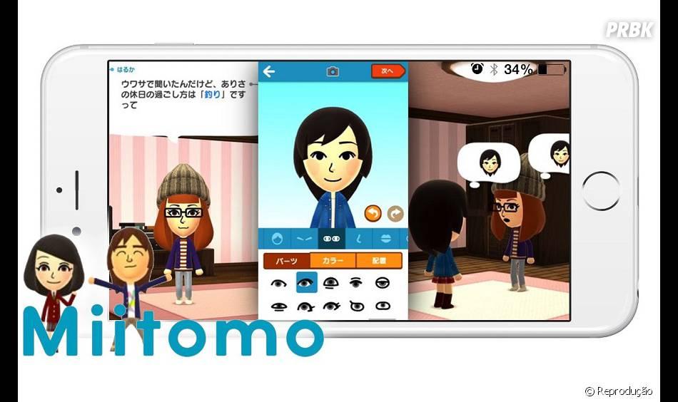 """O sucesso do jogo """"Miitomo"""", da Nintendo, inspirou a Sony em investir em títulos para Android e iOS"""