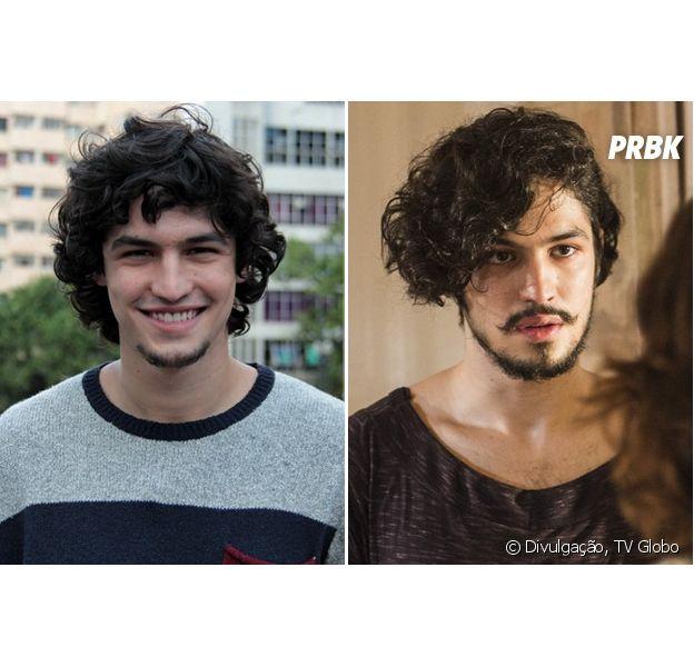 """De """"Verdades Secretas"""" a """"Velho Chico"""", Gabriel Leona muda visual para viver filho de Camila Pitanga"""