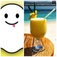 Snapchat bugado: fotos de smoothies de frutas espalham vírus no app #cuidado