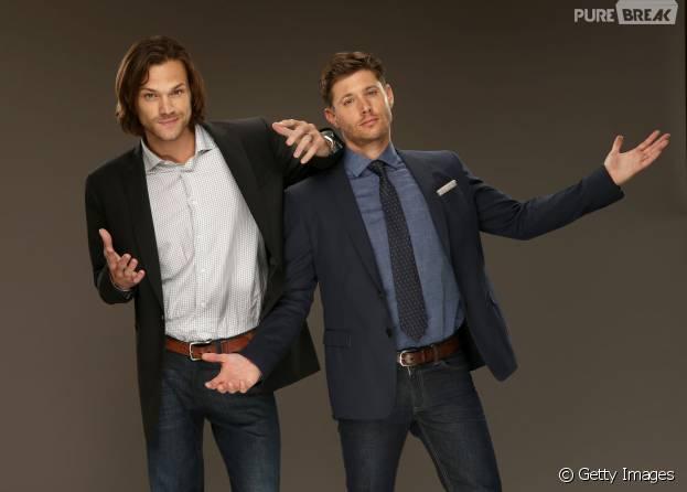 "Jensen Ackles e Jared Padalecki contam como gostariam que ""Supernatural"" terminasse"