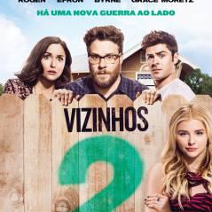 """De """"Vizinhos 2"""": Chlöe Moretz e Zac Efron aparecem no novo pôster da sequência. Veja!"""