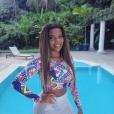 """Ludmilla investiu no liso para gravar o clipe """"Não Me Toca"""""""