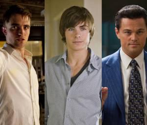 Robert Pattinson, Zac Efron e o Leonardo DiCaprio estão na listinha de favoritos de certos diretores!
