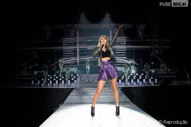 """Clipe de """"New Romantics"""" é liberado por Taylor Swift na Apple Music"""