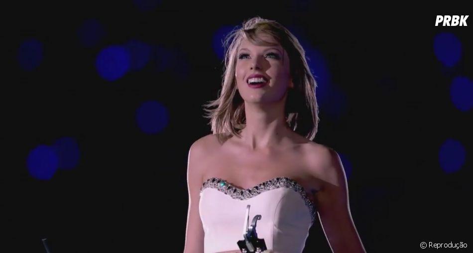 """Taylor Swift divulga clipe de """"New Romantics"""", com imagens da """"1989 World Tour"""""""