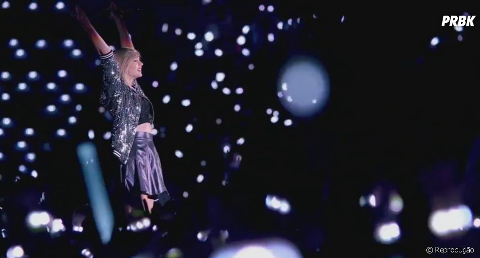"Taylor Swift divulga clipe de ""New Romantics"" em homanegm aos fãs"