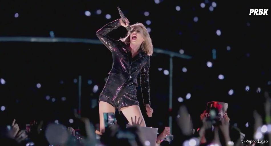 """O clipe de """"New Romantics"""" encerra a era """"1989"""", deTaylor Swift"""