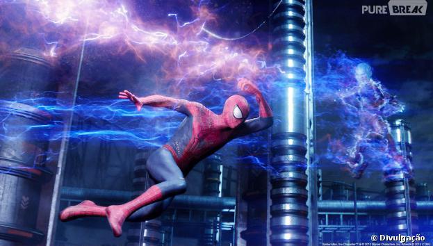 """Novas imagens de """"O Espetacular Homem-Aranha 2"""" são reveladas"""