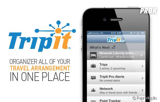 "app ""Tripit"""