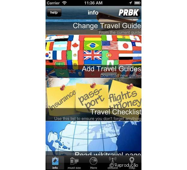 """""""City Travel Guides"""" é grátis para iOS"""