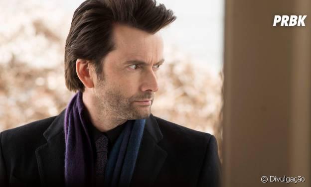 """Kilgrave (David Tennant) é o carismático vilão de """"Jessica Jones"""""""